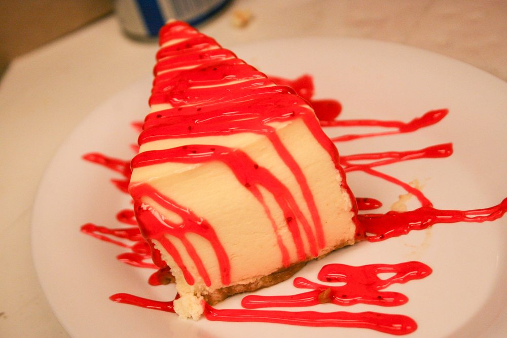 broadway pizza bar new york style cheesecake