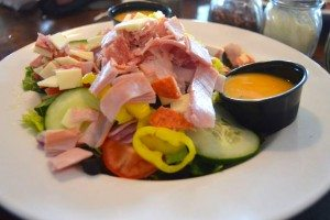 Antipasto salad at Broadway Pizza bar
