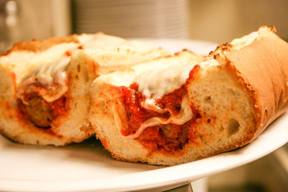 broadway pizza bar sandwich